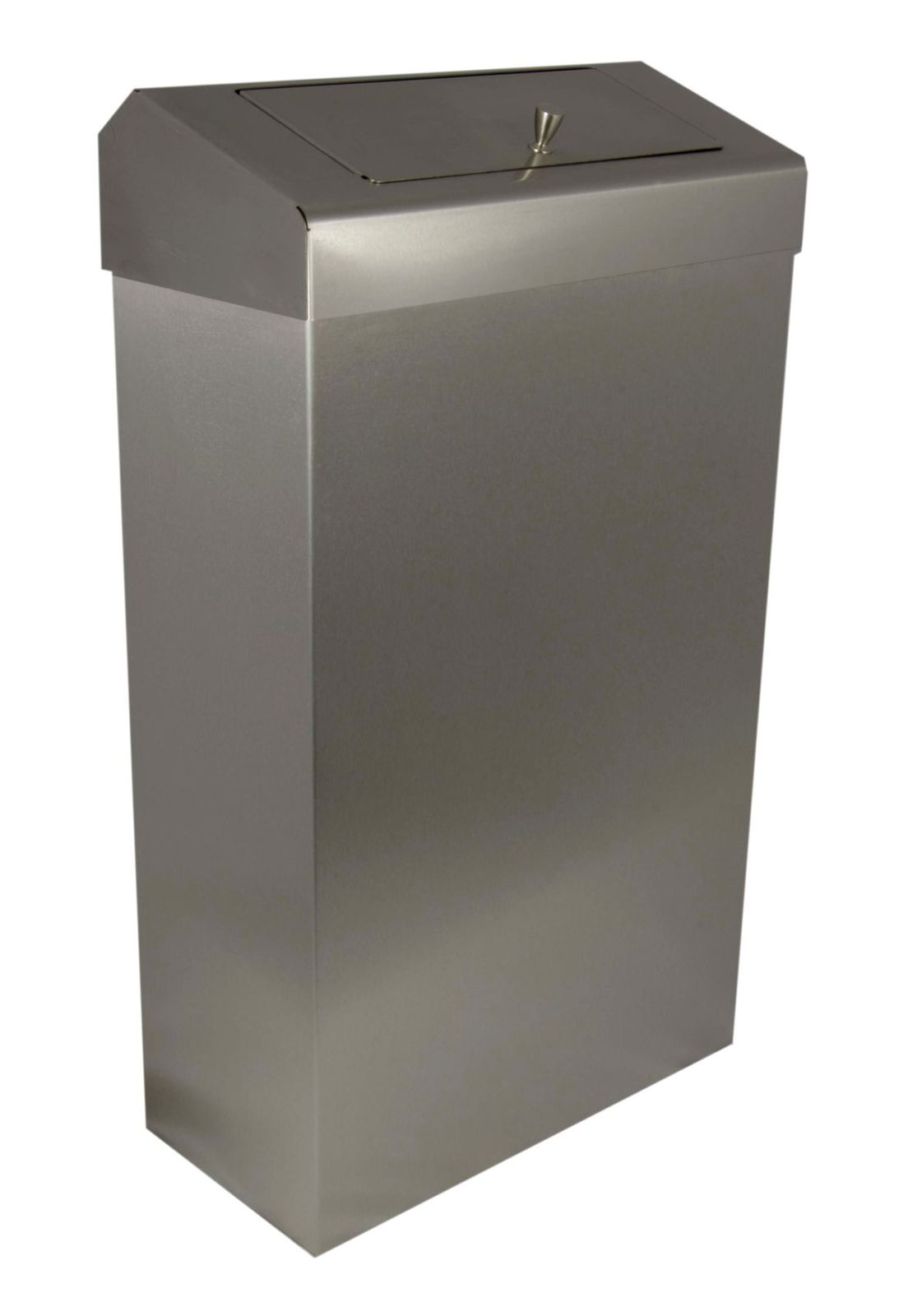 30l Wall Mounted Free Standing Waste Bin With Discretion