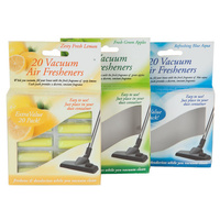Vacuum Air Freshener Sticks Odour Neutraliser (Pack x20)