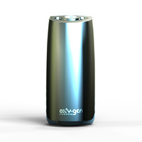 Oxy-Gen Viva!E Air Freshener Odour Control System Dispenser  - STEEL GREY