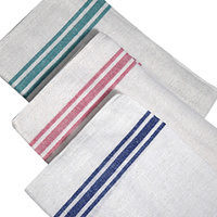 Tea Towel - Professional Catering 100% Cotton Assorted Colours (Individual)