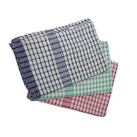 Tea Towel - Checked Rice Weave (Individual)