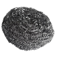 Heavy Duty Stainless Steel Scourers - Large 40g Rust Resistant Individually Wrapped (Pack x10)