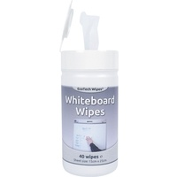 Whiteboard Wipes Removes Ghosting/Smear Free (Tub x40 Wipes)