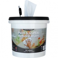 Industrial Paint & Graffiti Wipes (Bucket x150 Wipes)