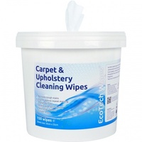 Carpet & Upholstery Cleaning Wipes, Lavender Fragrance (Bucket x150 Wipes)