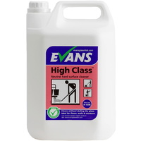 EVANS - HIGH CLASS - General Purpose Mopping Neutral Cleaner/Spray Maintainer (5L)