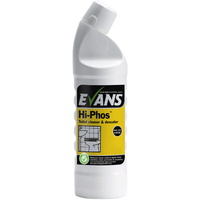 EVANS - HI-PHOS - High Active Phosphoric Acid Cleaner & Descaler Safe on Stainless Steel (1L)
