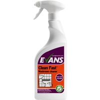 EVANS - CLEAN FAST - Heavy Duty Acidic Bactericidal Cleaner (EN1276) (750ml)