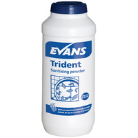 EVANS - TRIDENT - Blue Sanitising Powder (500g)