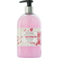 EVANS - PINK PEARL BASIN - Luxury Hand/Soap Basin Pump Bottle (500ml)