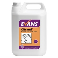 EVANS - CITRAND - Heavy Duty Hand Gel with Pumice (Microbead Free) (5L)