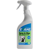 EVANS - SPRAY & WIPE - Multi Task Hard Surface Cleaner (750ml)