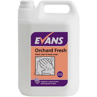 EVANS - ORCHARD FRESH - Refreshing Hand, Hair & Body Wash/Soap (5L)