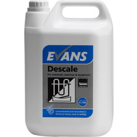 EVANS - DESCALE - Removes Limescale, From Commercial Machines (5L)