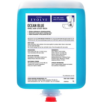 EVANS - OCEAN BLUE (Cartridges) - Revitalising Hand, Hair and Body Wash (6x1L Cartridges)