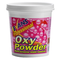 EVANS - OXY POWDER - Multi Purpose Stain Remover Tub complete with Scoop (1kg)