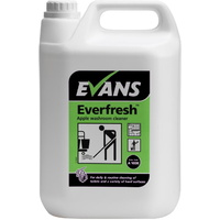 EVANS - EVERFRESH APPLE - Daily Use Toilet & Hard Surface Cleaner, Neutral PH (5L)