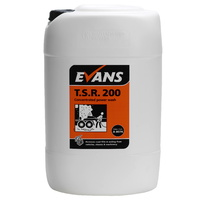 EVANS - TSR200 - Traffic Soil Remover Commercial Double Strength for Pressure Washers (25L)