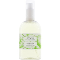 EVANS - CITRUS FOAM BASIN - Luxury Foaming Hand & Body Wash/Soap Basin Pump Bottle (500ml)