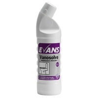 EVANS - VANOSOLVE - Extremely strong, Hydrochloric acid toilet cleaner and descaled (1L)