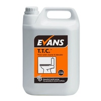 EVANS - TTC - Hydrochloric Acid Thick Toilet Cleaner and Descaler (5L)
