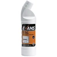 EVANS - TTC - Hydrochloric Acid Thick Toilet Cleaner and Descaler (1L)