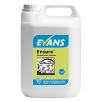 EVANS - ENSURE - High Quality Catering Grade Alcohol Sanitiser (EN1276, EN13697 & EN1650) (5L)