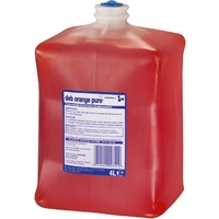 Deb DOP4000L - Orange Pure Hand Cleaner 4L Case x4