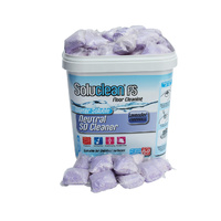 Soluclean Neutral Scrubber Drier Floor Cleaner (Polished Floors) (Lavender Fragrance) Tub x150 Sachets