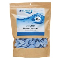 Soluclean Neutral Cleaner (Polished Floors) (Lavender Fragrance) Tub x150 Sachets/Mop Buckets
