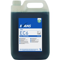 EVANS - EC6 ALL PURPOSE (5L) - All Purpose Hard Surface Cleaner (BLUE)