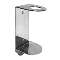 EVANS SINGLE WALL BRACKET -, Stainless Steel Wall Bracket for, use with 500ml Basin Pump, Bottle