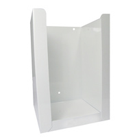 White Powder Coated Napkin Dispenser