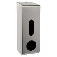 Domestic Toilet Roll Dispenser (Brushed Stainless Steel)