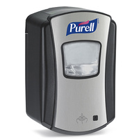 1328 - PURELL LTX-7 - 700ml Automatic Dispenser - Black/Chrome