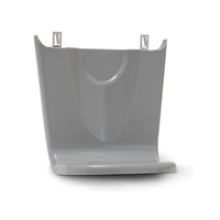 INDIVIDUAL - 5145 GOJO FMX SHIELD Grey - Floor & Wall Protectors/Drip Tray