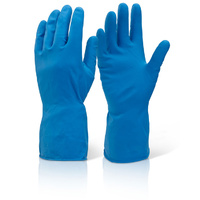 Household Rubber Gloves Large - Blue