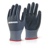 B-Flex Nitrile Coated Dot Grip Gloves EN388