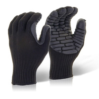 Glovezilla High Performance Anti Vibration Gloves EN420, EN388, EN10819