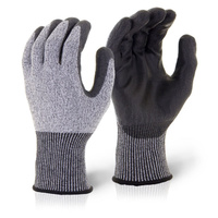Click Kutstop PU Coated Cut Resistant Level 5 Gloves EN388