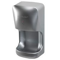 Crocodillo T2 Hand Dryer - Ultra Fast Blade Dryer with Catch Tray 850W / 72.7dB / 12 Seconds - SILVER