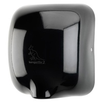Kangarillo ECO 2 Hand Dryer - Auto Variable Heater Ultra Fast 900W / 79dB / 8-12 Seconds - BLACK