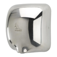 Kangarillo ECO 2 Hand Dryer - Auto Variable Heater Ultra Fast 900W / 79dB / 8-12 Seconds - STAINLESS STEEL