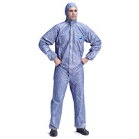 DuPont Tyvek Hooded Coveralls Blue EN1149, EN1073, EN14126