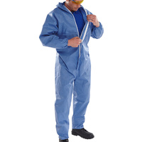 Click Protective Coveralls Navy CE Marked Type 5 & 6 EN13034 & EN13982