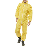 Click Chemical Protective Coveralls Yellow CE Marked Type 3/4/5/6
