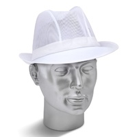Catering Grade White Trilby Hat