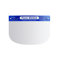 Splash-Proof Full Face Length Visor – Disposable Face Shield