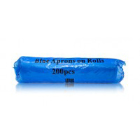 Disposable Aprons - Blue Roll x200