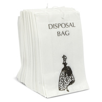 Disposable Sanitary Bags, Paper (x1000)